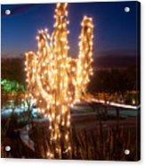 Arizona Christmas Tree Acrylic Print
