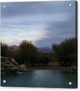 Arizona Evening Acrylic Print