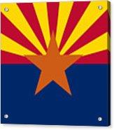 Arizona Flag Art Acrylic Print