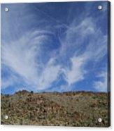 Arizona Foothill Sky Acrylic Print