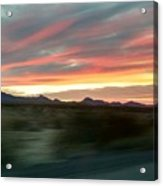 Arizona Highway Acrylic Print