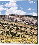 Arizona Hills Acrylic Print