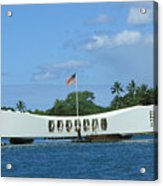 Arizona Memorial Acrylic Print