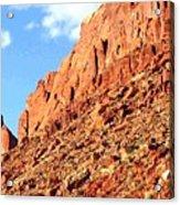 Arizona Sandstone Acrylic Print