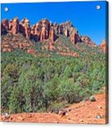 Arizona-sedona-soldier's Pass Trail Acrylic Print