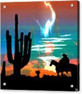 Arizona Skies Acrylic Print