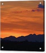 Arizona Sunset 12 Acrylic Print