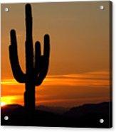 Arizona Sunset 3 Acrylic Print
