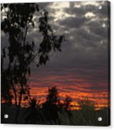 Arizona Sunset II Acrylic Print