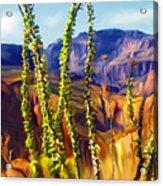 Arizona Superstition Mountains Acrylic Print
