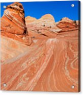 Arizona-utah- North Coyote Buttesthe Wave Acrylic Print