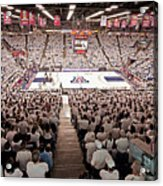 Arizona Wildcats White Out At Mckale Center Acrylic Print