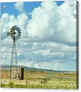 Arizona Windmill Acrylic Print