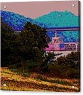 Arkansas River Lock Acrylic Print