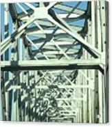 Arkansas Side Of Helena Bridge 1 Acrylic Print