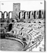 Arles Amphitheater A Roman Arena In Arles - France - C 1929 Acrylic Print