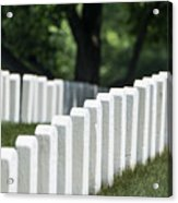 Arlington Cemetery Acrylic Print