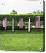 Arlington Flags Acrylic Print