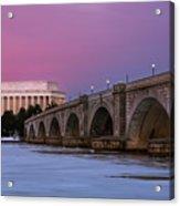 Arlington Memorial Bridge Acrylic Print