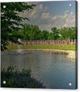 Arlington Memorial Gardens Acrylic Print