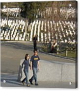 Arlington National Cemetery Acrylic Print