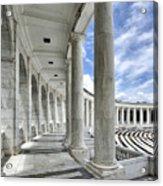 Arlington National Cemetery - Memorial Amphitheater Acrylic Print