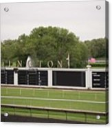 Arlington Park Race Track Acrylic Print