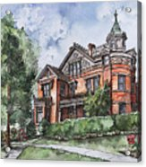 Armstrong Mansion Acrylic Print