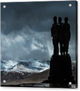 Army Commando Memorial  Acrylic Print