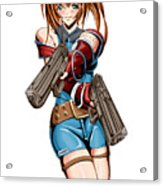 Army Girl A Acrylic Print