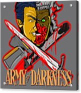 Army Of Darkness Ash Acrylic Print