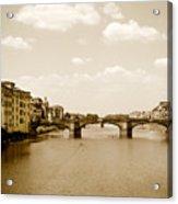 Arno River Florence Acrylic Print