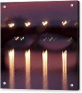 Arno River Reflections Acrylic Print