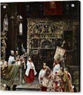 Arnosa Choirboys Acrylic Print