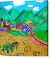 Aromatic Harvest Acrylic Print