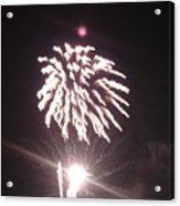 Around The Fourth Fireworks Xiii Acrylic Print