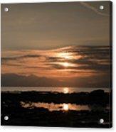 Arran Sunset Acrylic Print