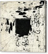 Arrhythmic Number One Acrylic Print