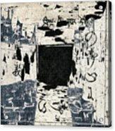 Arrhythmic Number Three Acrylic Print