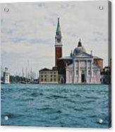 Arriving In Venice Acrylic Print