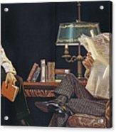 Arrow Shirt Collar Ad, 1914 Acrylic Print