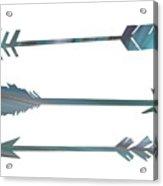 Arrows Acrylic Print