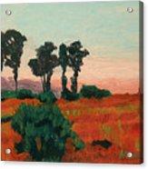 Arroyo Grande Vista Acrylic Print