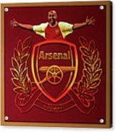 Arsenal London Painting Acrylic Print