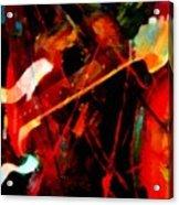 Art And Music Painting Acrylic Print