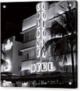 Art Deco Miami Beach Acrylic Print