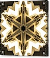Art Deco Parquet Star Acrylic Print