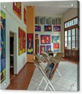 Art Gallery In Havana Acrylic Print