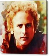 Art Garfunkel, Music Legend Acrylic Print