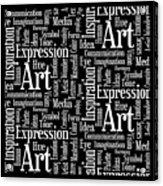 Art Idea Inspiration Acrylic Print